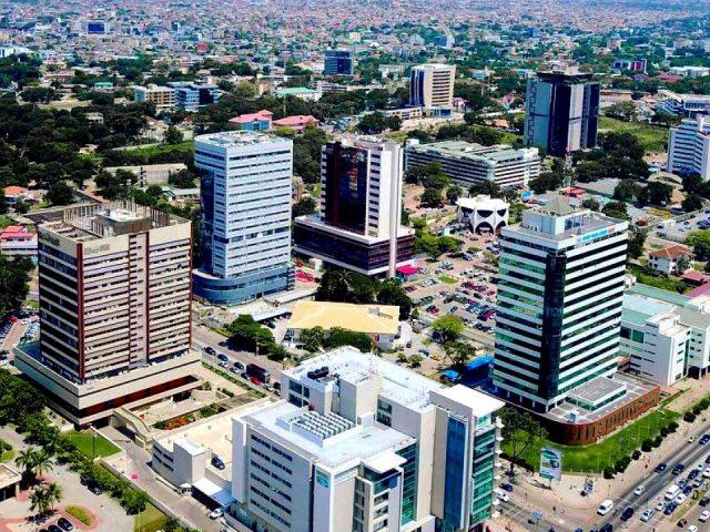 Slums in Accra