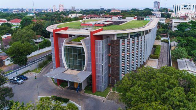 World Bank Ghana Living Roof