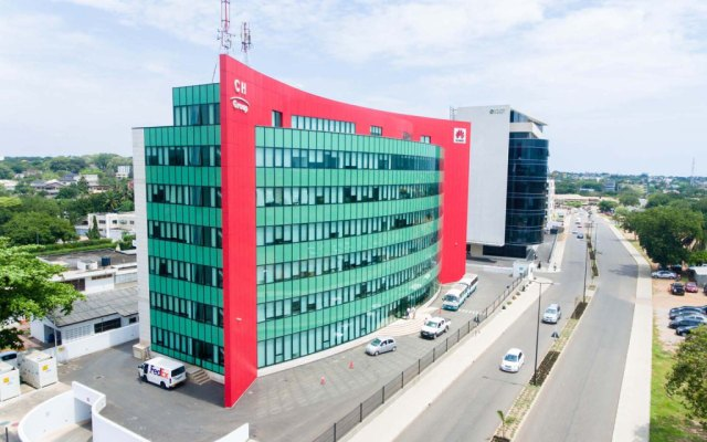 Huawei Building at Cantonments developed by Goldkey Properties