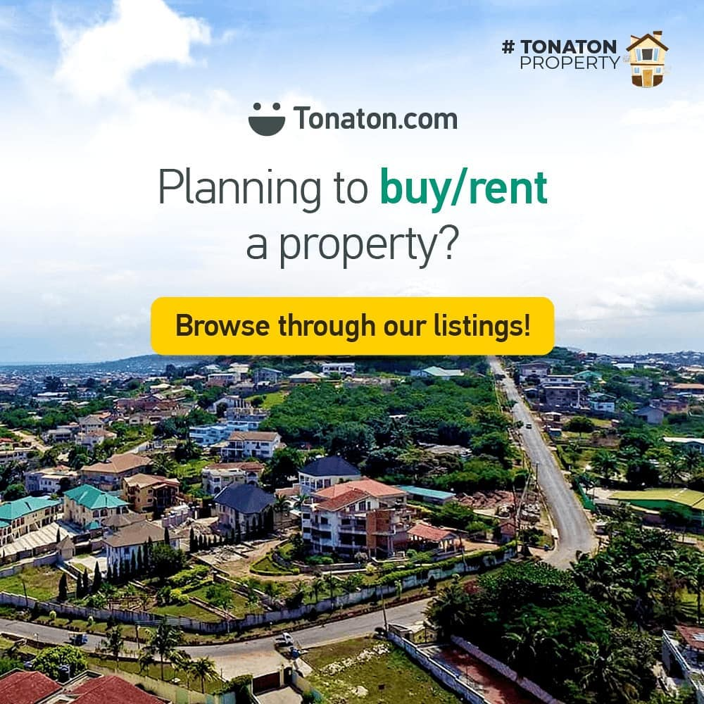 Tonaton Property offers an online real estate marketplace for tenants